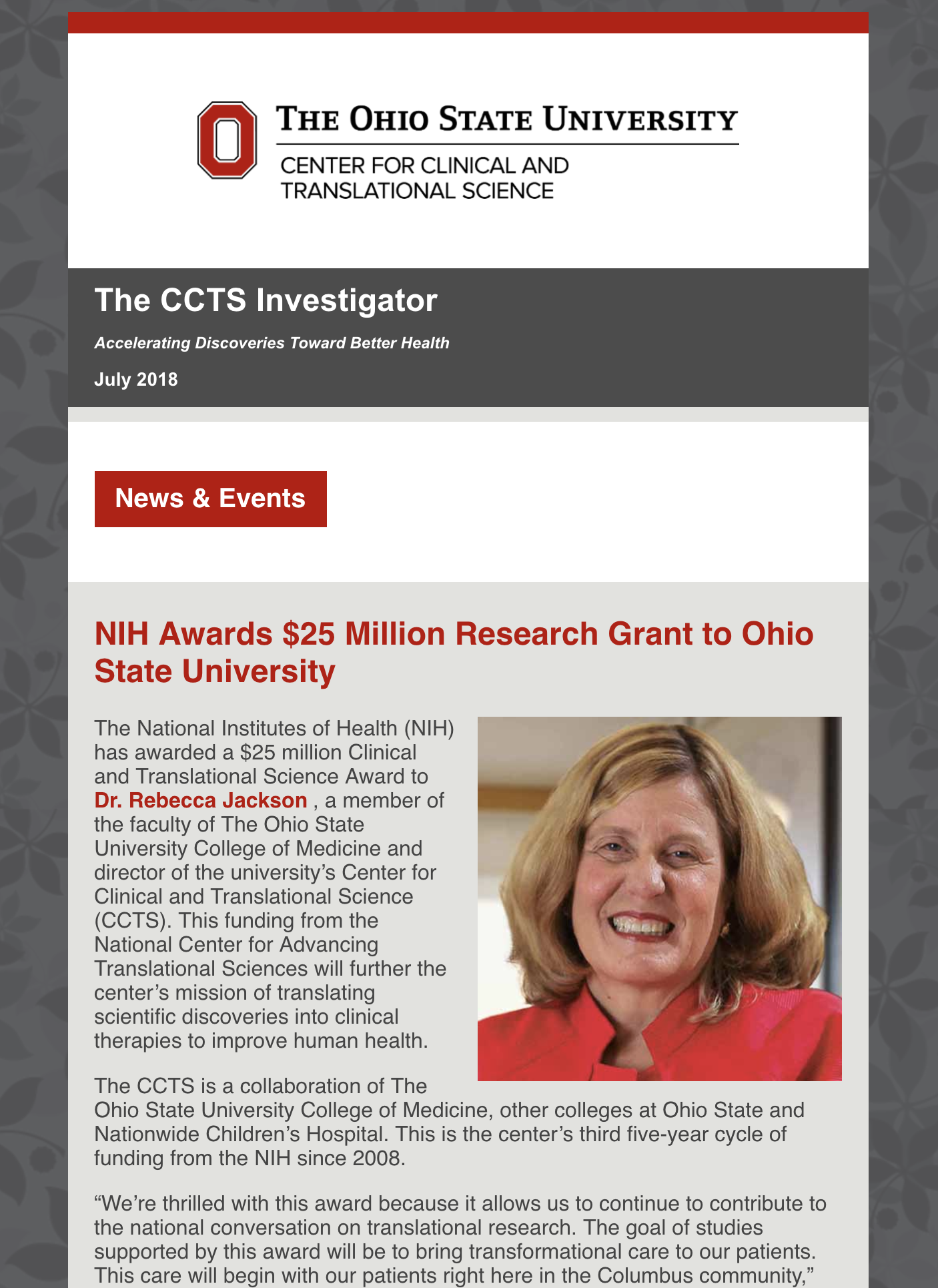 CCTS Investigator July 2018